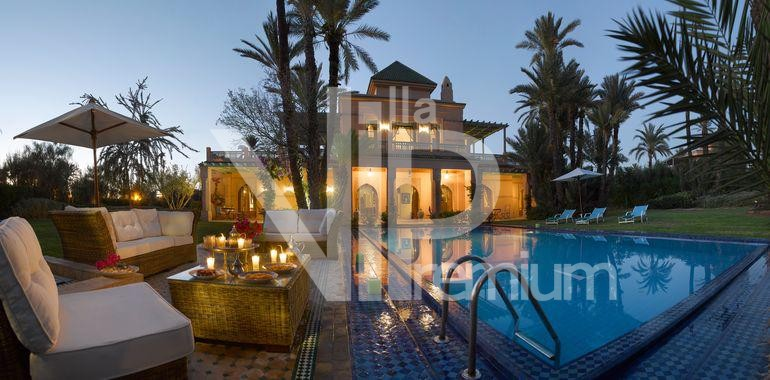 villa piscine marrakech