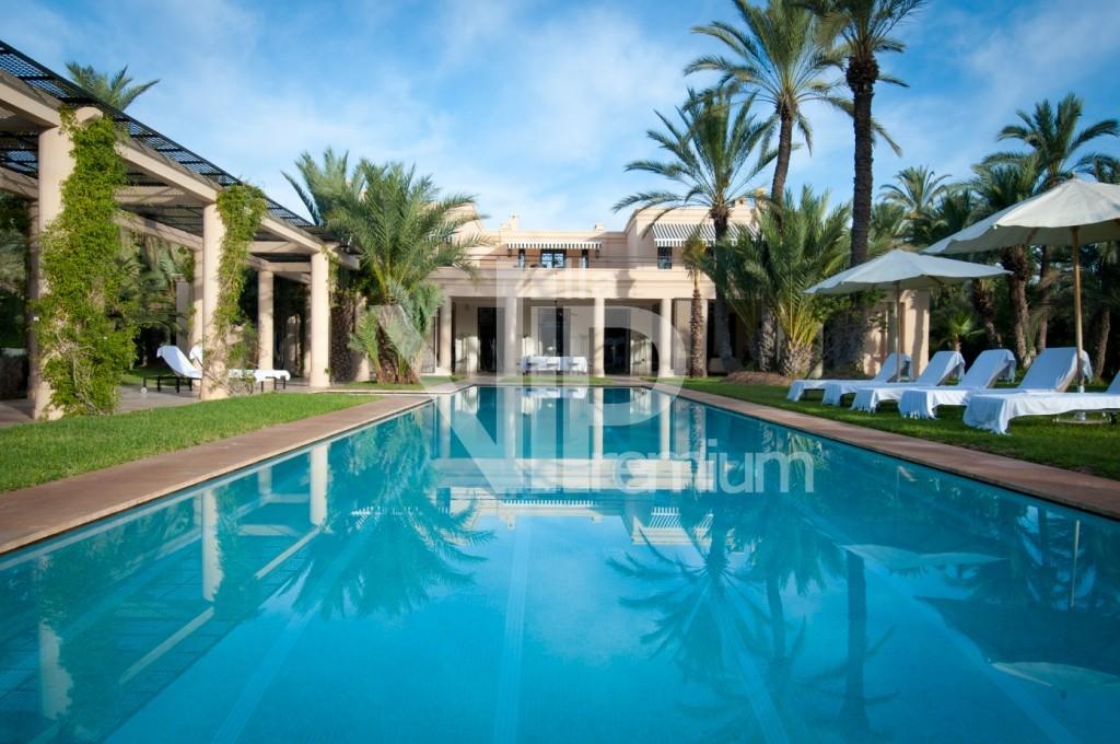 villa piscine marrakech