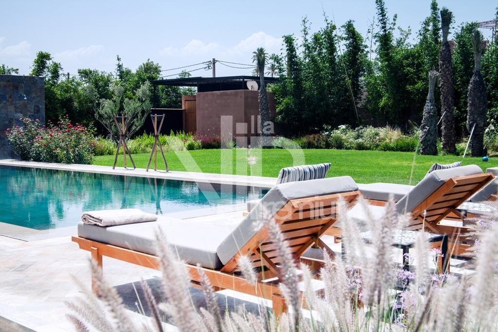 villa de luxe, Route de Fès