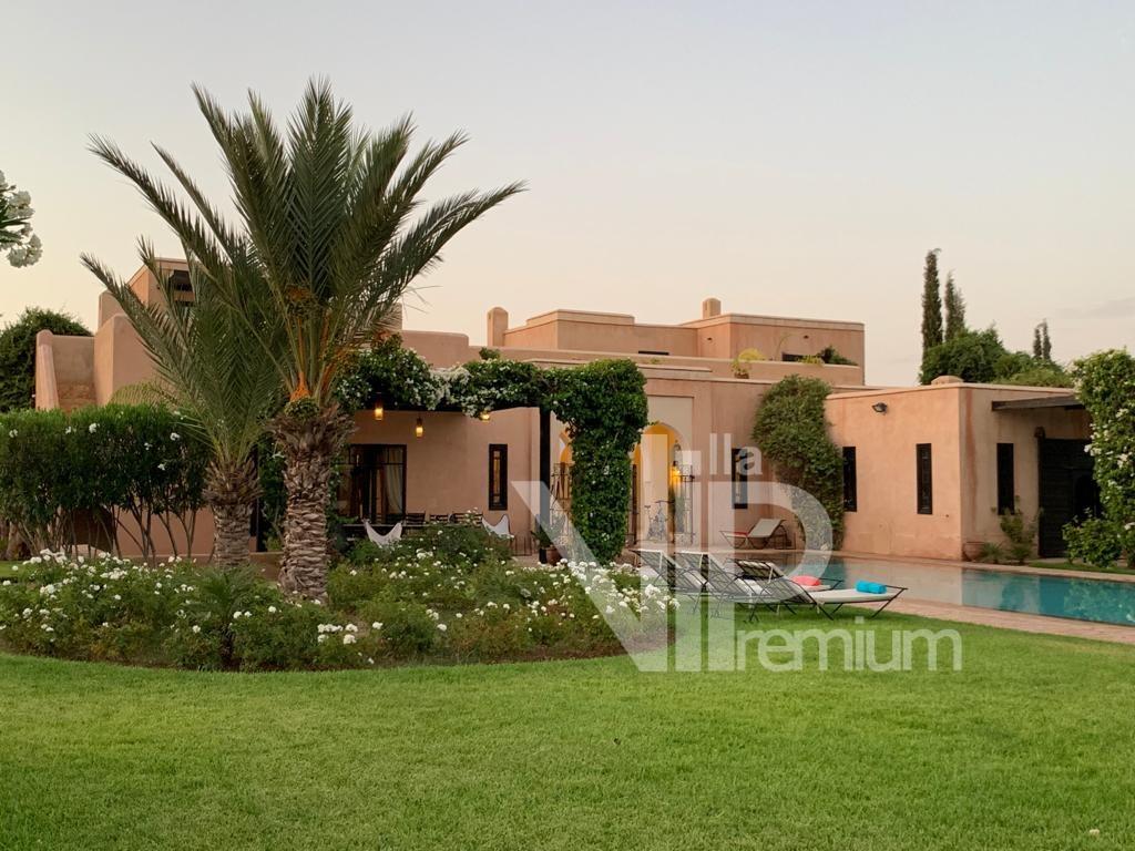 location villa luxe marrakech